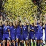 日本がワールドカップで優勝した日。