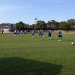 宮崎キャンプ取材〜宮崎産業経営大学との練習試合。