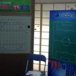 千駄ヶ谷でサッカー×将棋。