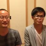 本日は麻生取材&渡辺明棋王と戸辺誠六段対談。