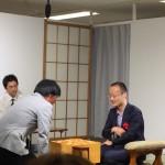 渡辺 明棋王VSサッカー元日本代表・小村徳男さんの観戦記。